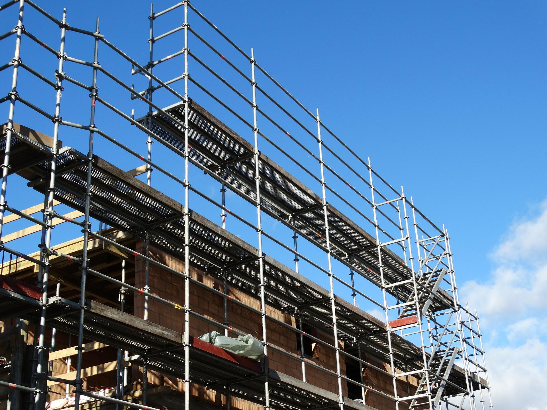 Rusztowanie – remontujemy elewację domu